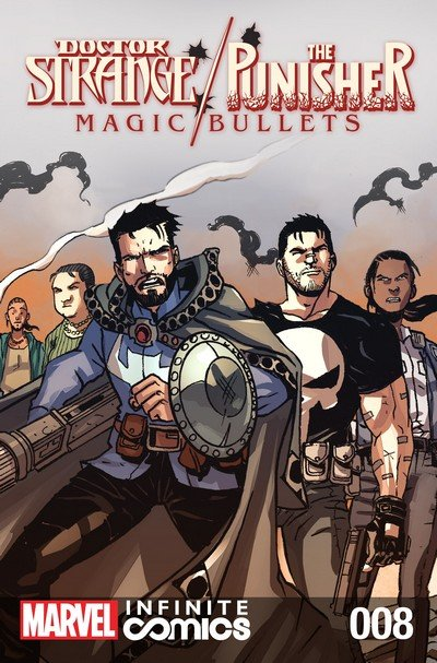 Doctor Strange – The Punisher – Magic Bullets Infinite Comic #8 (2017)