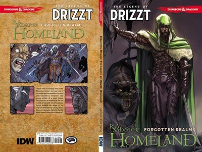 Dungeons & Dragons – The Legend of Drizzt Vol. 1 – 5 (2015-2016)