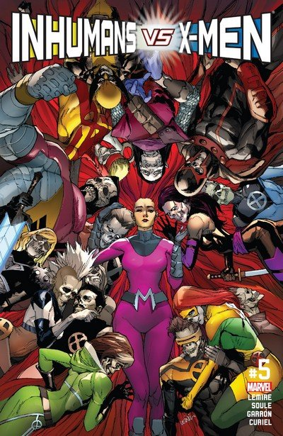 Inhumans vs. X-Men #5 (2017)