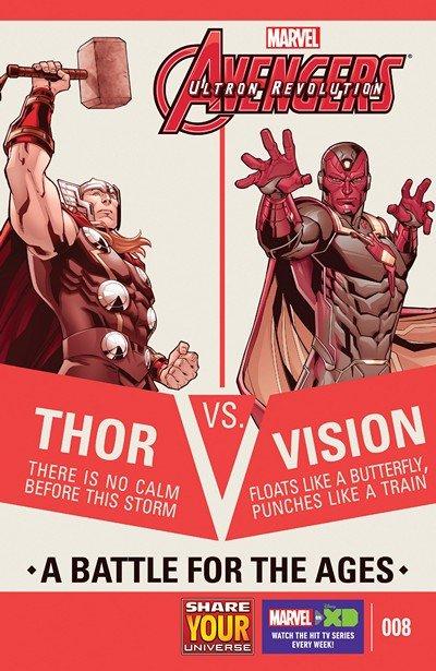 Marvel Universe Avengers – Ultron Revolution #8 (2017)