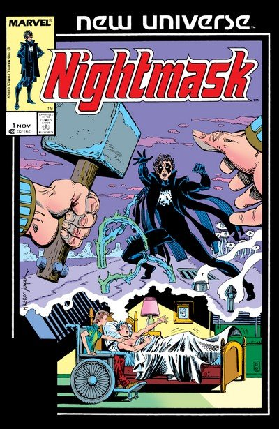 Nightmask Vol. 1 #1 – 12 (1986-1987)