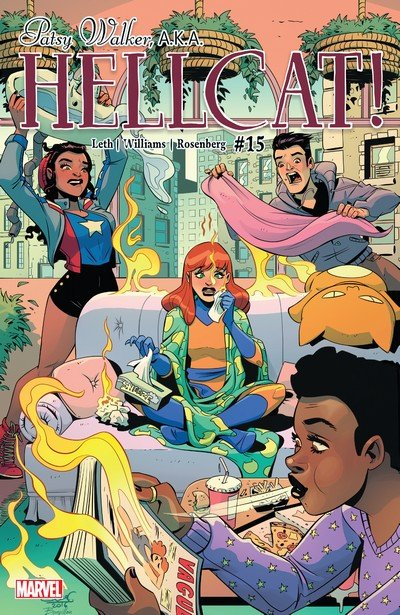 Patsy Walker – A.K.A. Hellcat! #15 (2017)