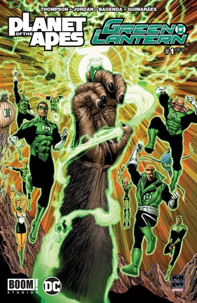 Planet of the Apes – Green Lantern #1 (2017)