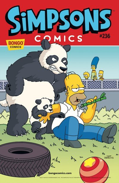 Simpsons Comics #236 (2017)