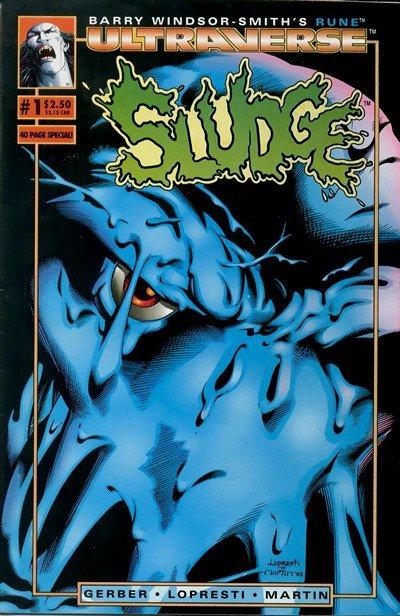 Sludge #1 – 12 (1993-1994)
