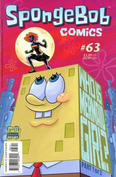 SpongeBob Comics #63 (2016)