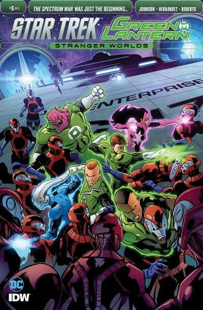 Star Trek Green Lantern Vol. 2 #3 (2017)