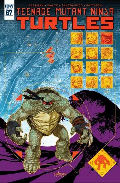 Teenage Mutant Ninja Turtles #67 (2017)