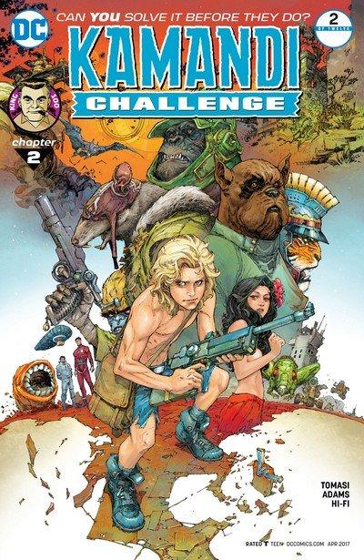 The Kamandi Challenge #2 (2017)