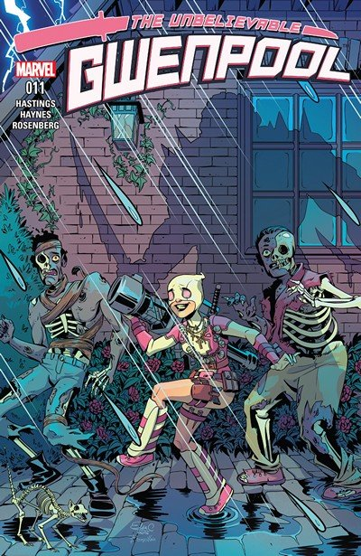 The Unbelievable Gwenpool #11 (2017)