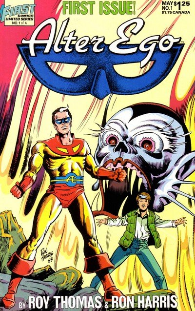 Alter Ego #1 – 4 (1986)
