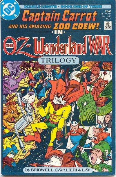 Captain Carrot – The Oz-Wonderland War #1 – 3 (1986)