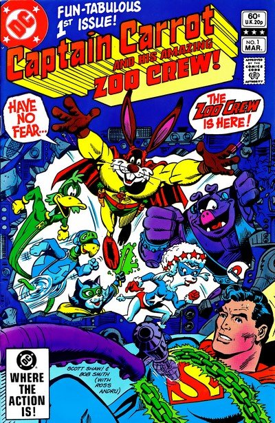 Captain Carrot and His Amazing Zoo Crew #0 – 20 (1982-1983)