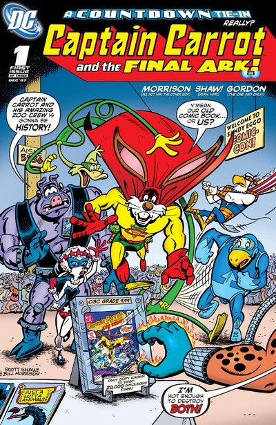 Captain Carrot and the Final Ark #1 – 3 (2007-2008)