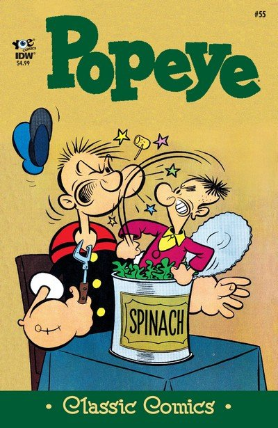 Classics Popeye #55 (2017)