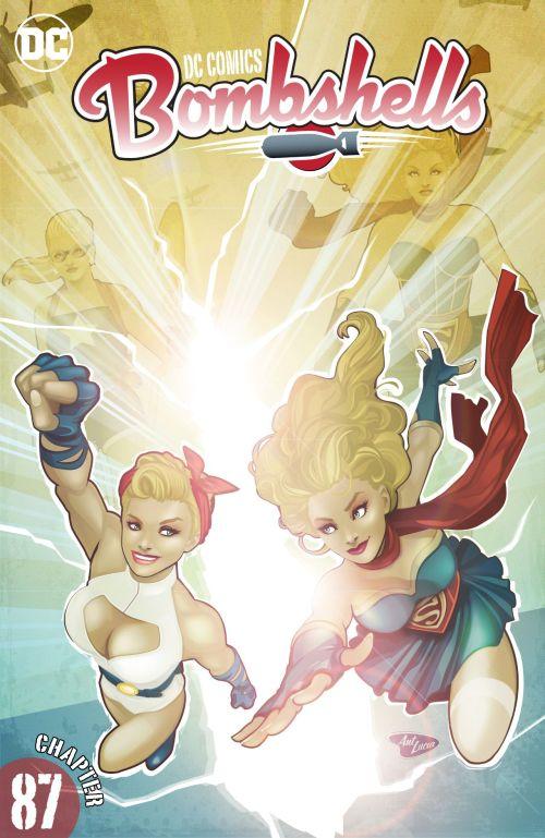 DC Comics – Bombshells #87 (2017)