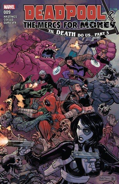 Deadpool & The Mercs For Money #9 (2017)