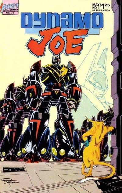 Dynamo Joe #1 – 15 (1986-1988)