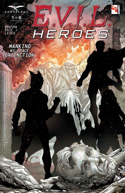 E.V.I.L. Heroes #1 – 6 (2016-2017)