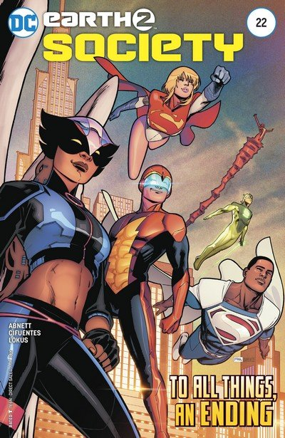 Earth 2 – Society #22 (2017)