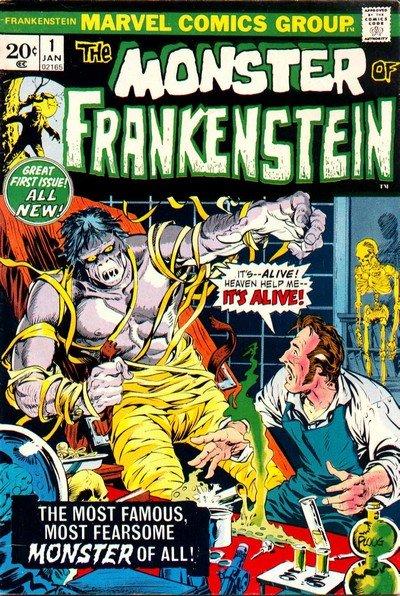 Frankenstein #1 – 18 (1973-1975)