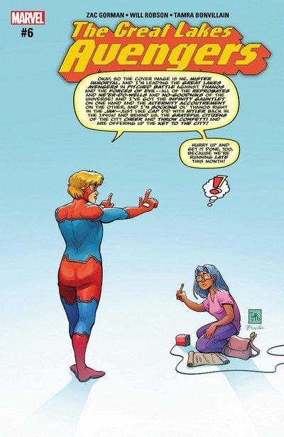 Great Lakes Avengers #6 (2017)