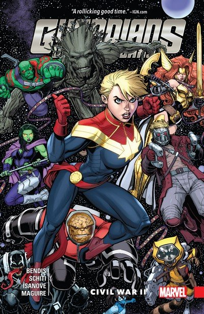 Guardians of the Galaxy Vol. 3 – New Guard – Civil War II (2017)