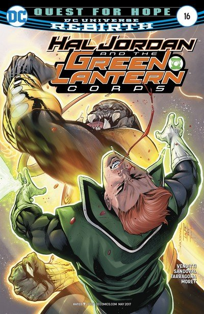 Hal Jordan and the Green Lantern Corps #16 (2017)
