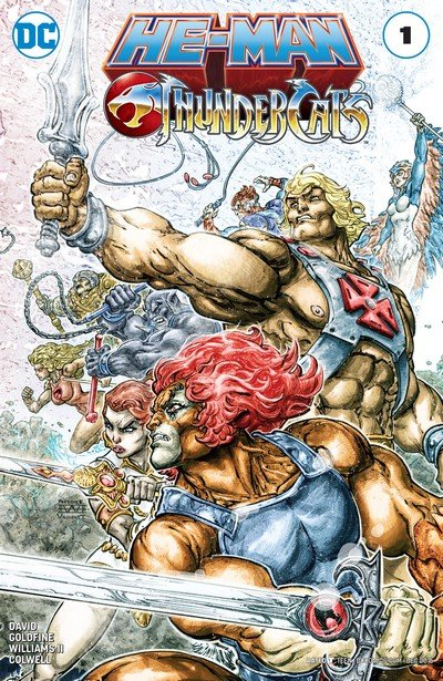 He-Man – Thundercats #1 – 6 (2016-2017)