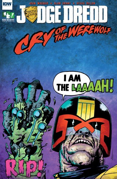 Judge Dredd – Cry of the Werewolf #1 (2017)