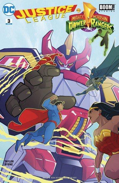 Justice League-Power Rangers #3 (2017)