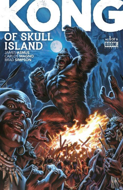 Kong Of Skull Island #1 – 12 + TPB Vol. 1 – 2 (2016-2017)