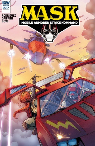 M.A.S.K. – Mobile Armored Strike Kommand Annual #1