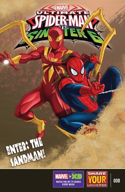 Marvel Universe Ultimate Spider-Man vs. The Sinister Six #8 (2017)