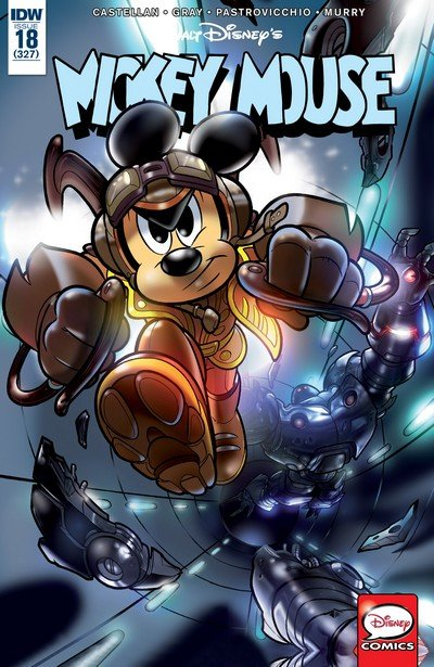 Mickey Mouse #18 (2017)