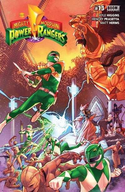 Mighty Morphin Power Rangers #13 (2017)