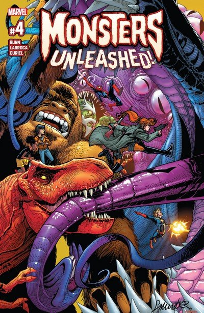 Monsters Unleashed #4 (2017)