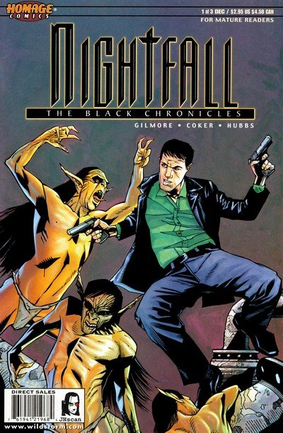 Nightfall – The Black Chronicles #1 – 3 (1999)