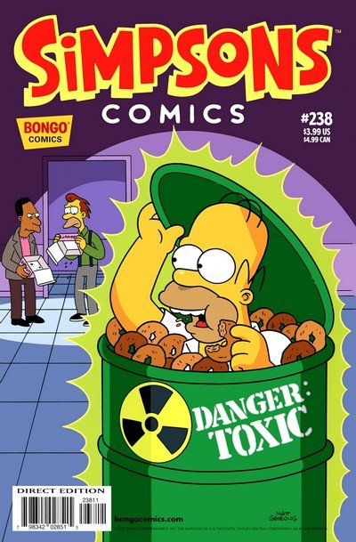 Simpsons Comics #238 (2017)