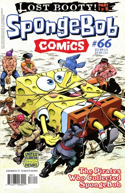 SpongeBob Comics #66 (2017)