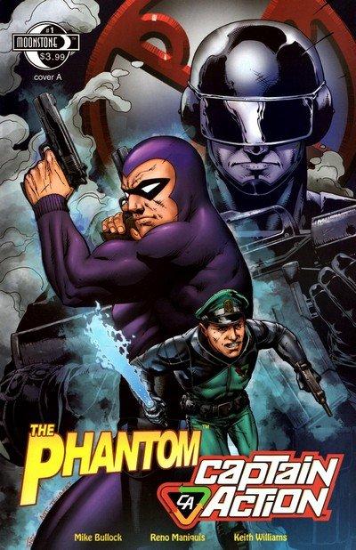 The Phantom – Captain Action #1 – 2 (2010)