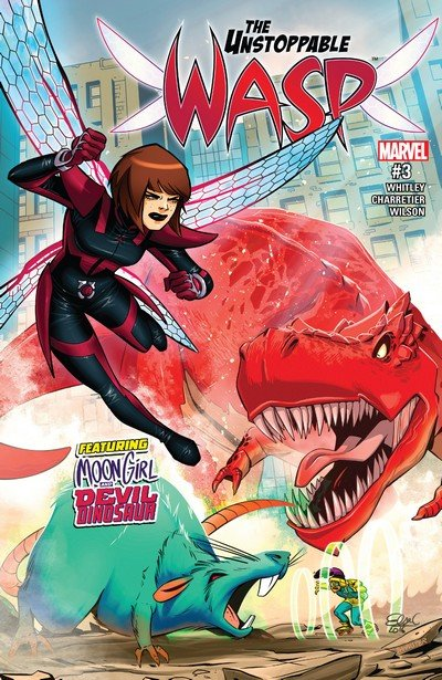 The Unstoppable Wasp #3 (2017)
