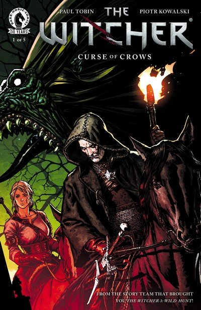 The Witcher – Curse of Crows #1 – 5 (2016-2017)