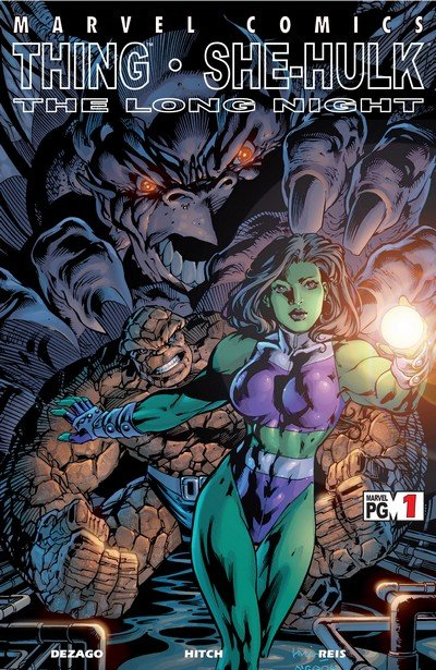 Thing & She-Hulk – The Long Night #1 (2002)