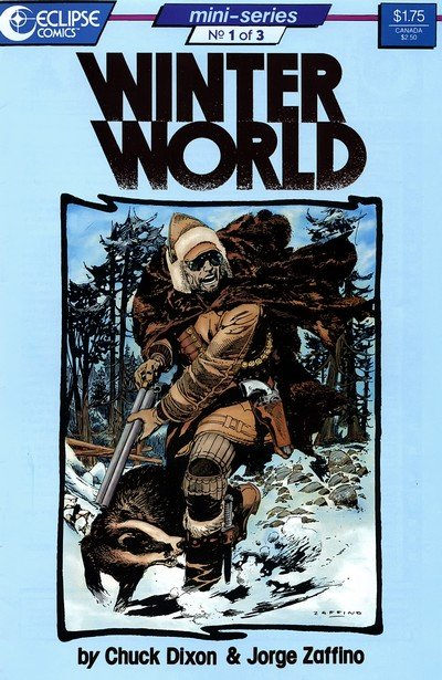 WinterWorld #1 – 3 (1987)
