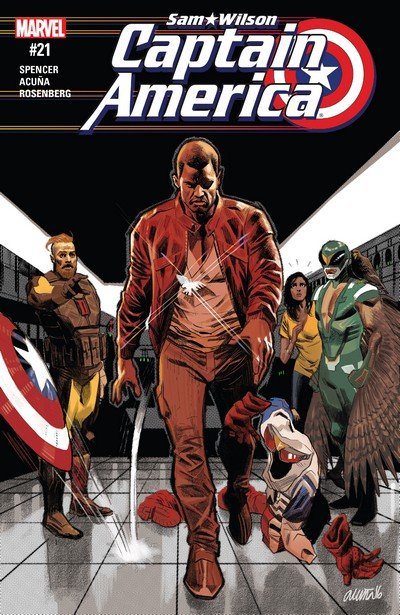 Captain America – Sam Wilson #21 (2017)