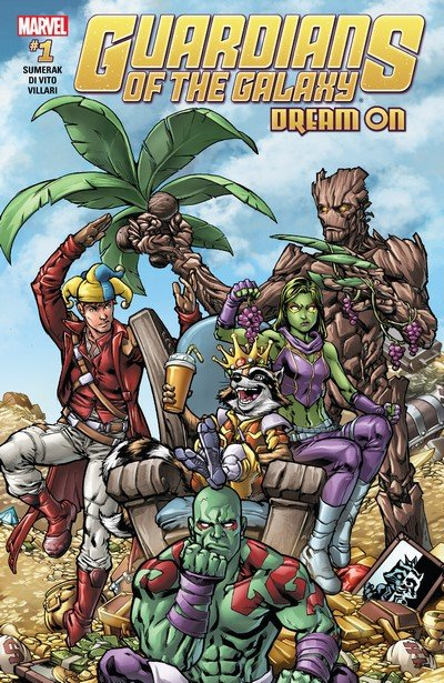 Guardians of the Galaxy – Dream On #1 (2017)