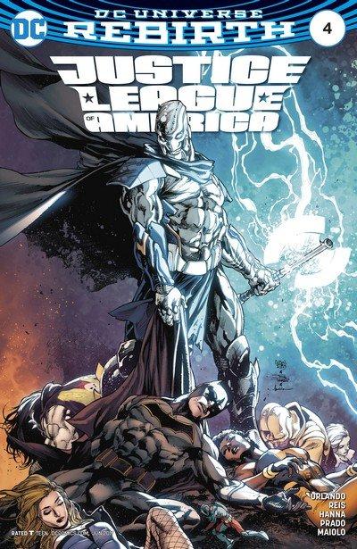 Justice League of America #4 (2017)