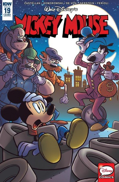 Mickey Mouse #19 (2017)