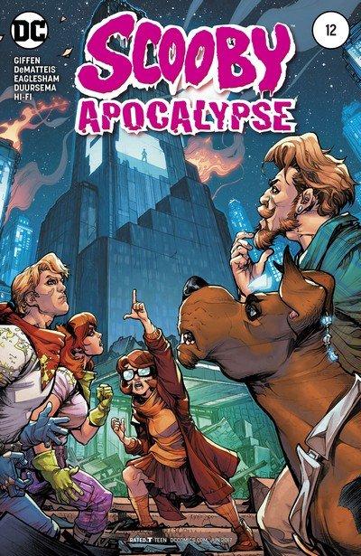 Scooby Apocalypse #12 (2017)